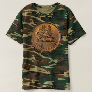 T-shirt Lion of Judah - Rasta Jah Army - reggae Shirt