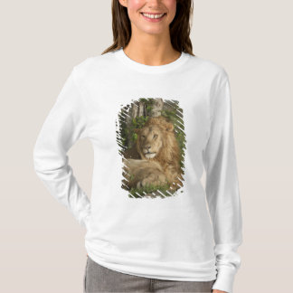 T-shirt Lion, Panthera Lion, repos de mâles