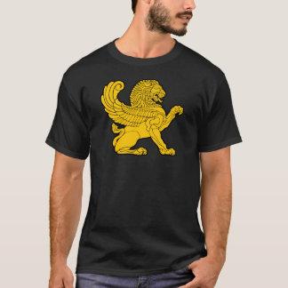 T-shirt lion persan