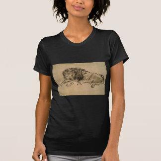 T-shirt Lion se reposant par Rembrandt