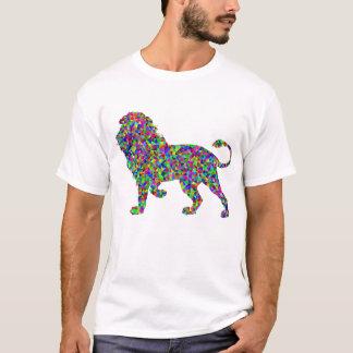 T-shirt Lion Trippy