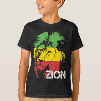 T-shirt Lion Zion