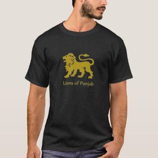 T-shirt Lions du Pendjab