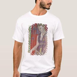 T-shirt Liquide de versement de préposé d'une cruche