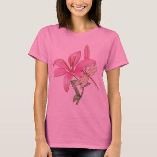 T-shirt Lis et libellule
