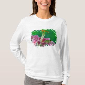 T-shirt Lis oriental et grenouille d'arbre Pacifique se