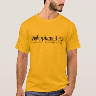 T-shirt Lisez le 4h13 de Philippiens de bible
