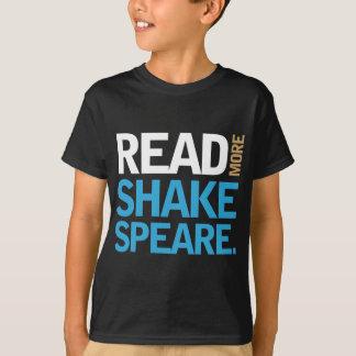 T-shirt Lisez plus de Shakespeare
