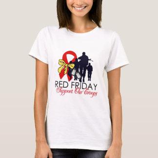 T-shirt Lisez vendredi - soutenez nos troupes