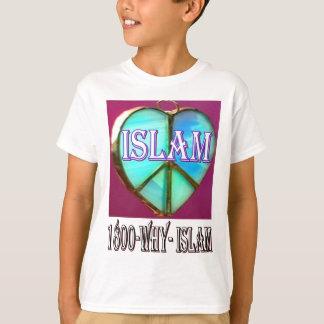 T-shirt L'Islam est paix et amour et bonheur