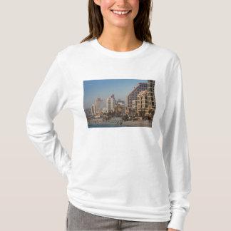 T-shirt L'Israël, Tel Aviv, du front de mer, hôtels,