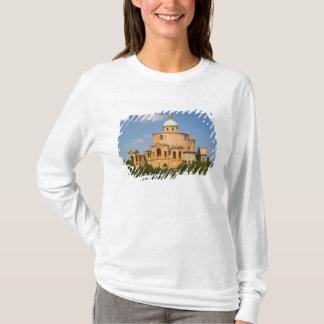 T-shirt L'Italie, Bologna, jour ensoleillé avec Portico di