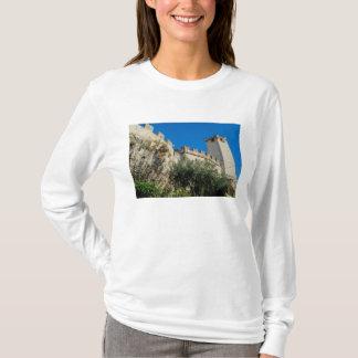 T-shirt L'Italie, Malcesine, policier de lac, château
