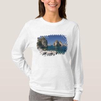 T-shirt L'Italie, Sicile, Scopello, roches par la madrague