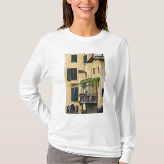 T-shirt L'Italie, Toscane, Florence. Balcon et