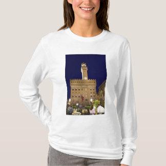 T-shirt L'Italie, Toscane, Florence. Diner de nuit