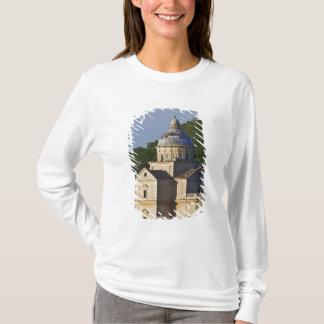 T-shirt L'Italie, Toscane, Montepulciano. Église de San