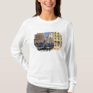 T-shirt L'Italie, Venise, gondoles a amarré le long du