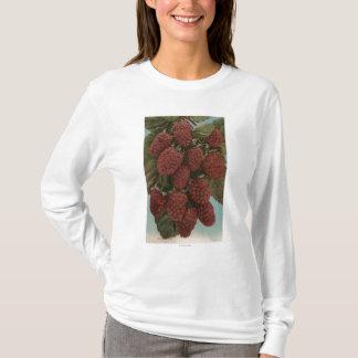 T-shirt Lithographie de Chromo de fruit de