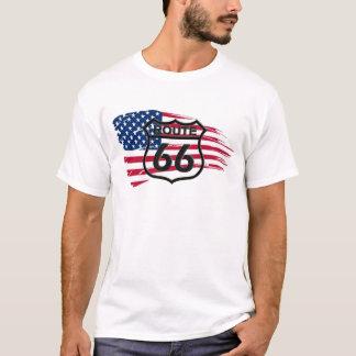 T-shirt L'itinéraire 66 de l'Amérique