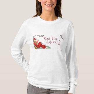 T-shirt littéraire rouge de douille de Fox de