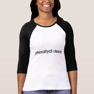 T-shirt littéralement dyslexique