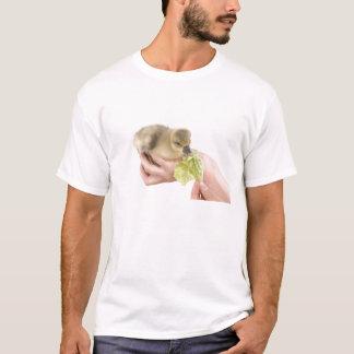 T-shirt little goose eats