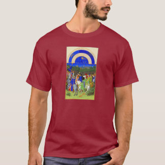 T-shirt Livre des heures - mois de mai