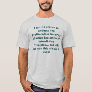 T-shirt Livre par pouce carré