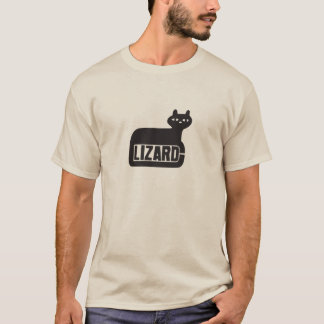 T-shirt Lizard Records
