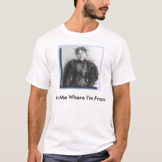 T-shirt lizzie_borden, diminuez-me d'où je suis