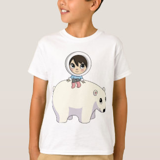 T-shirt Lizzy et givrer l'ours blanc
