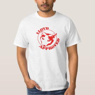 T-shirt Lloyd a approuvé