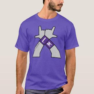 """T-shirt """"LM"""" par le Graal-m de Lucas"""