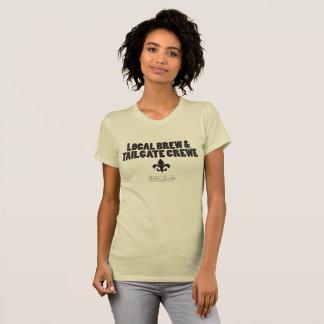 T-shirt local de Crewe- de Brew et de porte à