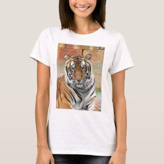 T-shirt Locations Tigres dans la contemplation