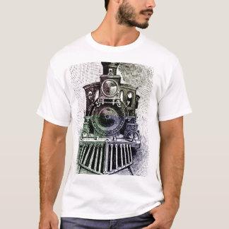 T-shirt locomotif de train