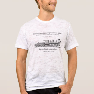 T-shirt Locomotive 1886 de commutation de Dickson