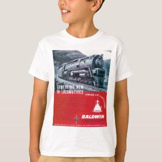T-shirt Locomotive à vapeur S-2 locomotive de Baldwin