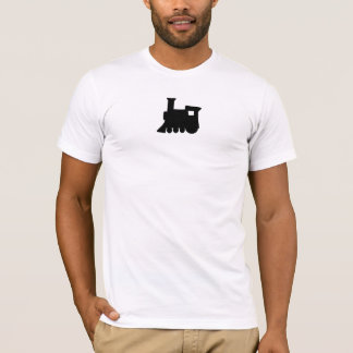 T-shirt Locomotive d'équipe - blanc