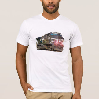 T-shirt Locomotive diesel