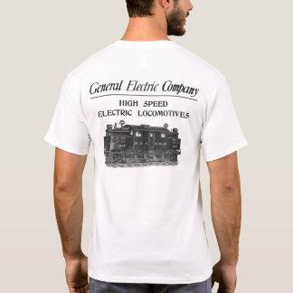 T-shirt Locomotives électriques à grande vitesse de GE