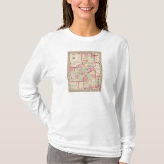 T-shirt Logan, Sangamon, comtés chrétiens