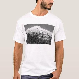 T-shirt Loge de Timerline et photographie de capot de Mt.