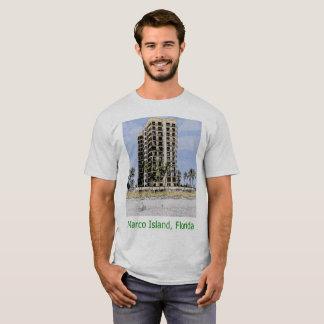 T-shirt Logement d'île de Marco, la Floride avec le