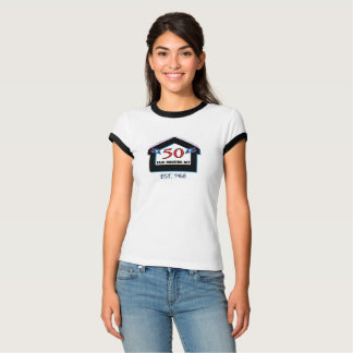 T-shirt Logement juste 50 (bougies) - la chemise des
