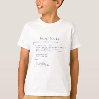 T-shirt Logique de bébé