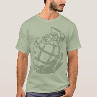 T-shirt Logo affligé de grenade