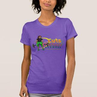 T-shirt Logo américain TShir d'haltère de JerseyT CCF