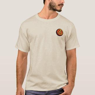 T-shirt Logo athée